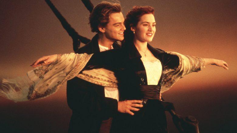 """Leonardo DiCaprio dhe Kate Winslet në filmin """"Titanic"""""""