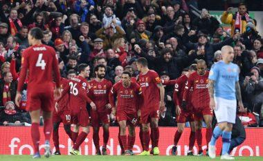Katër gola të shënuara, tri momente të dyshimta - Liverpooli gjunjëzon Cityn në Anfield Road