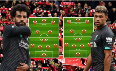 Dy formacionet e mundshme të Liverpoolit nëse luan dy ndeshje brenda një dite