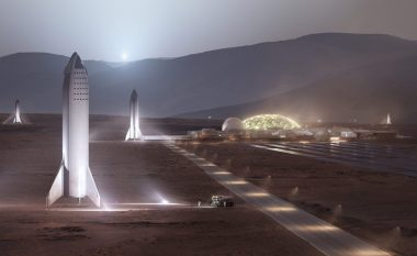 """Elon Musk deklaron se ndërtimi i """"qytetit të banueshëm"""" në planetin Mars kërkon njëmijë anije kozmike dhe 20 vjet për përfundim"""