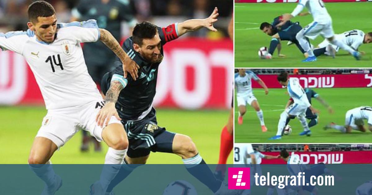 Photo of Topi i 'lidhur' për këmbën e Messit – argjentinasi kaloi gjashtë lojtarë të Uruguait brenda pas sekondash
