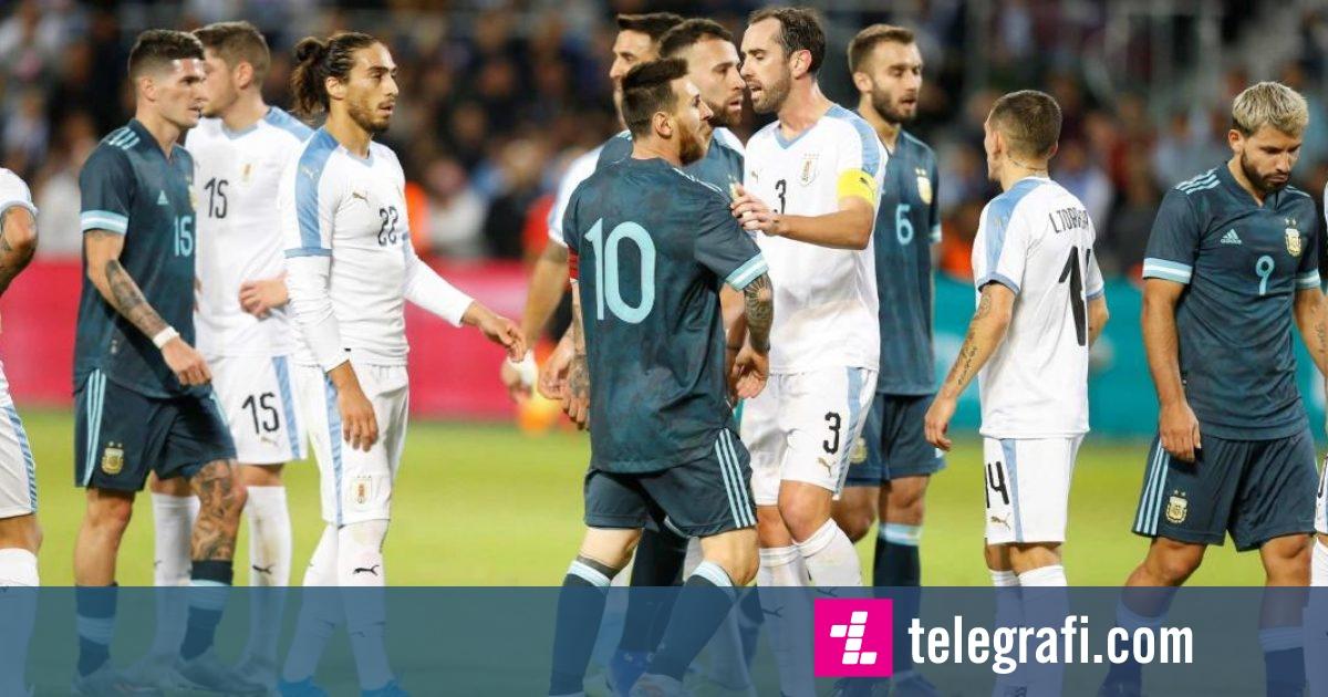 Photo of Katër gola të shënuara dhe shumë spektakël në mes Argjentinës dhe Uruguait që përfundoi pa fitues
