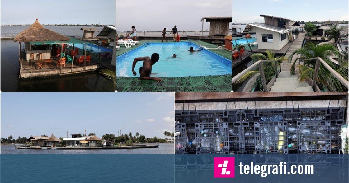 """Photo of Kjo parajsë ishullore është e bërë tërësisht nga plastika – nga """"ishulli lundrues"""", pronari pret 100 turistë në javë"""
