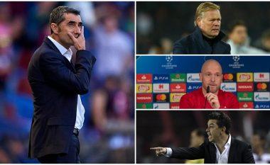 Tre emrat që janë bërë hije e Ernesto Valverdes – klubi po e vlerëson shkarkimin e trajnerit