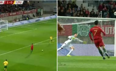 Mund t'ju ketë ikur - Ronaldo shkëlqeu mbrëmë me het-trik, por goli i dytë ishte mahnitës