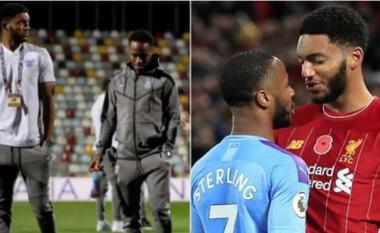 Sterling suspendohet nga Anglia pas zënkës me Joe Gomez në stërvitje