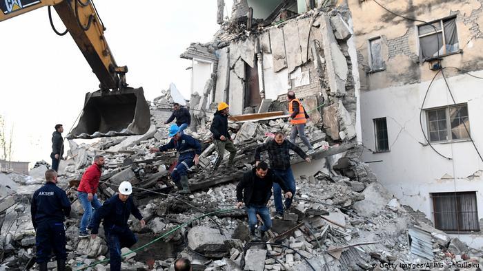 Kancelarja Merkel i ofron ndihmë emergjente Shqipërisë pas tërmeteve