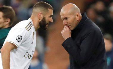 Zidane: Benzema është njësoj si Ronaldo në historinë e Real Madridit