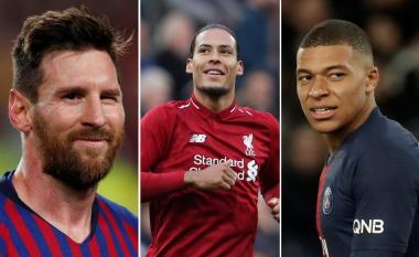Top 20 lojtarët më të mirë në Evropë aktualisht