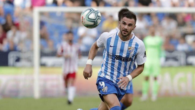 Armando Sadiku shënon dy gola për t'ia dhënë fitoren Malagas