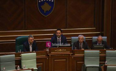 Fjalimi i parë i Glauk Konjufcës në cilësinë e kryetarit të Kuvendit