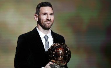 Lionel Messi, fiton Topin e Artë të gjashtë në karrierë