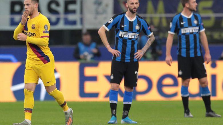 Pamje nga ndeshja Inter - Barcelona   (Foto: Emilio Andreoli/Getty Images)