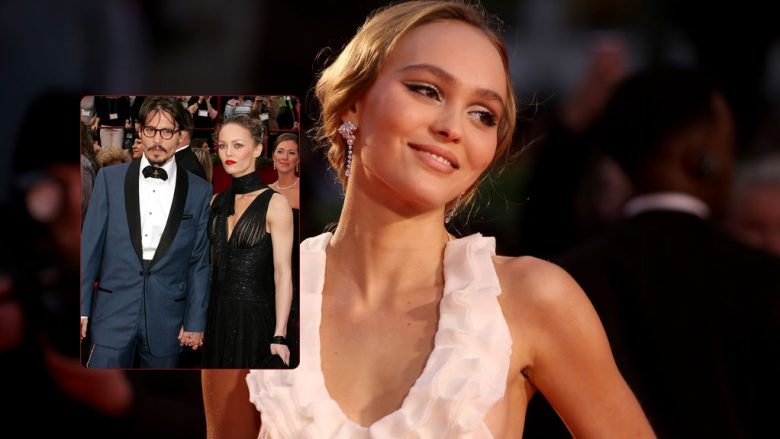 Lily-Rose Depp, Johnny Depp, Vanessa Paradis (Foto: Getty Images/Guliver)