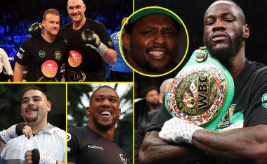 Renditja e boksierëve më të mirë për vitin 2019 duke mos e llogaritur kategorinë në të cilën garojnë