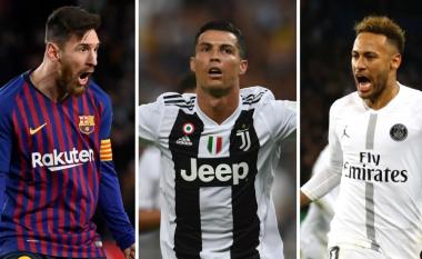 Lista prej 25 lojtarëve që u ka rënë vlera që nga fillimi i sezonit - befasojnë Messi e Ronaldo