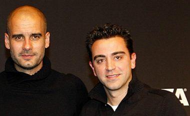 Drejtuesit e PSG-së planifikojnë dyshen e ëndrrave, Guardiola dhe Xavi në krye të ekipit