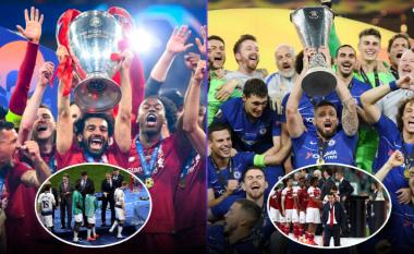 Rikthimi i Ligës Premier në majat e futbollit evropian – Liverpooli 'sundues' i Evropës dhe Botës, Chelsea fitues i Ligës së Evropës