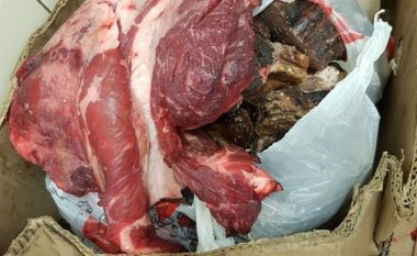 Konfiskohen mbi 3 mijë kilogram mish dhe shtatë lopë në Sigë të Pejës
