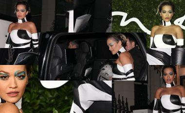 Rita Ora mori vëmendje me paraqitjen atraktive në British Fashion Awards 2019