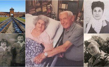I mbijetuari i Aushvicit zbulon ribashkimin emocionues në Nju Jork me të dashurën e tij, 72 vjet më pas – tregon se si ajo e shpëtoi pesë herë
