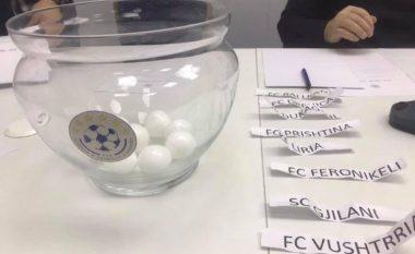Hidhet shorti për Kupën e Kosovës, mësohet çiftet çerekfinaliste