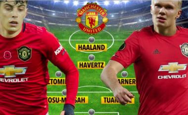 Kështu mund të ndryshojë formacioni i Unitedit me transferimin e Haverzt dhe Haaland