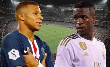 Real Madridi ka gati ofertën, Vinicius Jr plus para për Mbappen