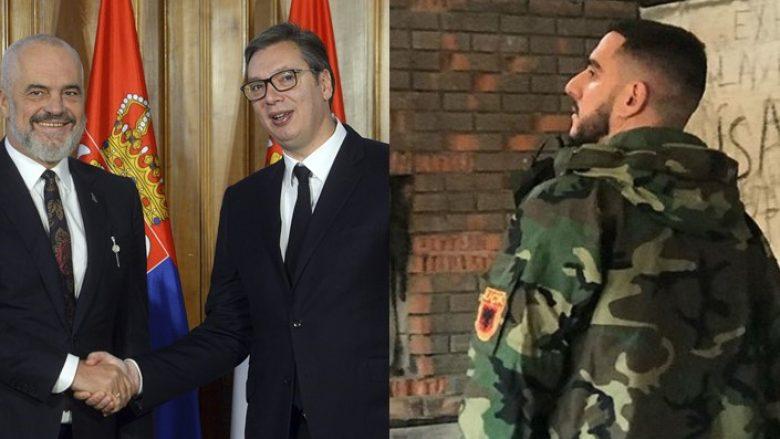 Gold AG i drejtohet Edi Ramës pas takimit me Vuçiqin: Mos mendo se i biri i serbes të do më shumë sesa Ramushi