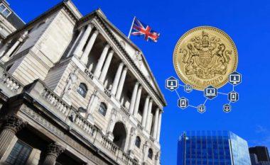 Banka e Anglisë do ta merr në konsideratë adoptimin e kriptovalutës