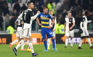 Ronaldo me dy golat e tij ia fiton tri pikë Juventusit ndaj Parmas