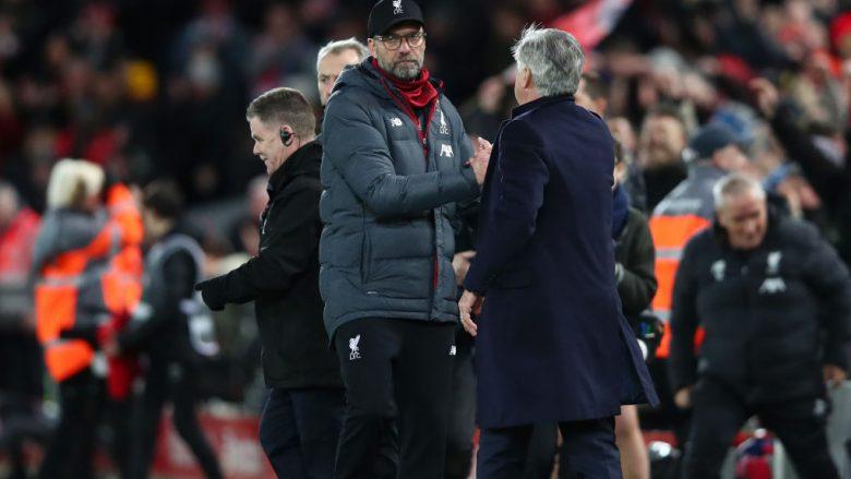 Jurgen Klopp dhe Carlo Ancelotti (Foto: Clive Brunskill/Getty Images/Guliver)