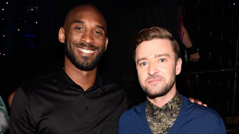 Kobe Bryant dhe Justin Timberlake (Foto: Kevin Mazur/Fox/Getty Images for Fox)