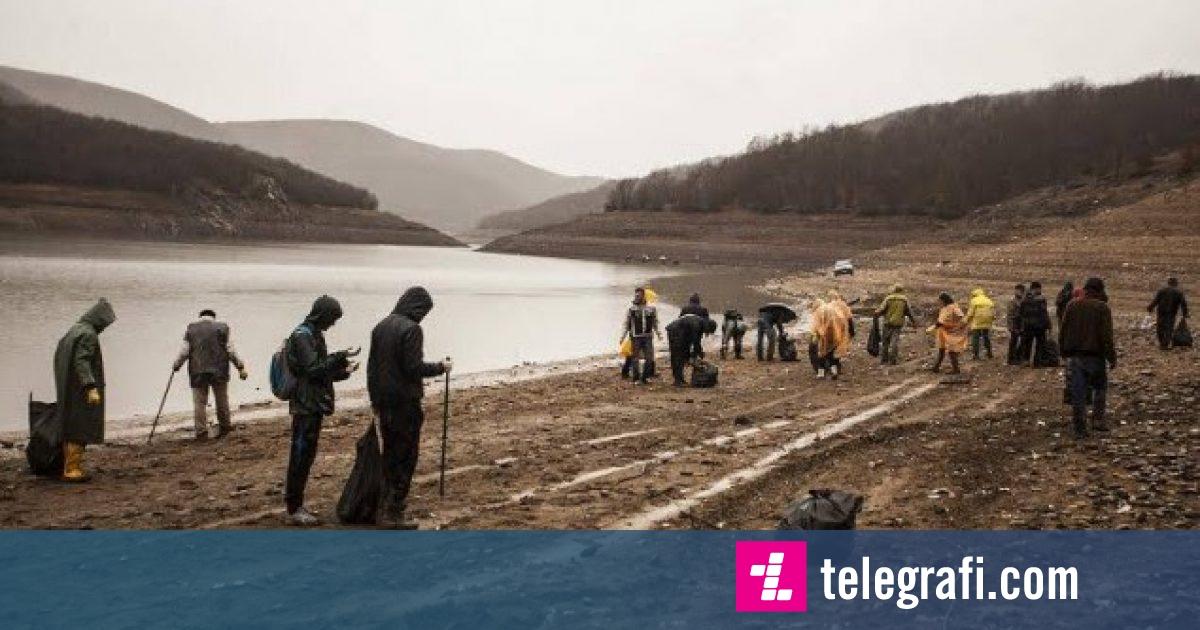 Aksion për pastrimin e Liqenit të Badocit