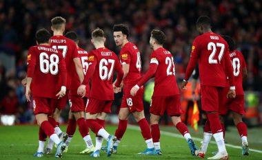 Të rinjtë e Liverpoolit mposhtin Evertonin, Reds kalojnë tutje në Kupën FA