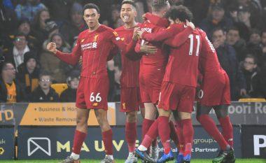Liverpooli i fortë edhe për Wolvesin, vazhdon marshin drejt titullit