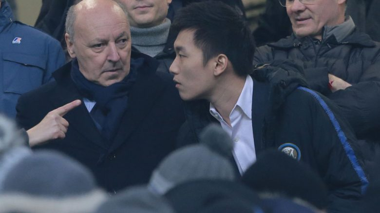 Beppe Marotta dhe Steven Zhang (Foto: Emilio Andreoli/Getty Images/Guliver)