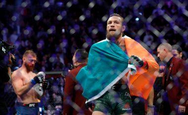 Fjalët e para të McGregor pas triumfit magjik ndaj Cerrone: Jam i lumtur dhe krenar, kam bërë histori në UFC