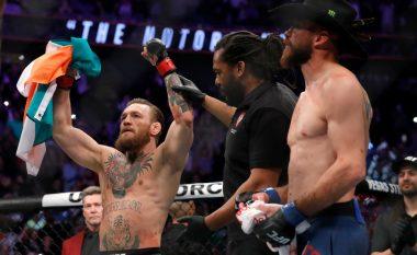 Conor McGregor rikthehet me fitore në UFC, triumfon me nokaut pas vetëm 40 sekondave ndaj Donald Cerrone