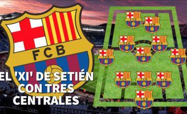 Formacioni i Setien me tre mbrojtës që do të revolucionarizonte Barçën me qëllim që ta dominojë Evropën – Ndryshim roli për Messin