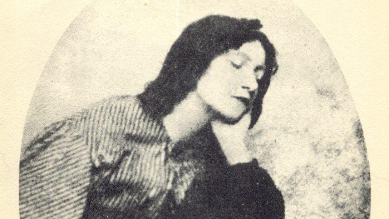 Fotografi e Lizzie Siddalit e bërë rreth vitit 1860