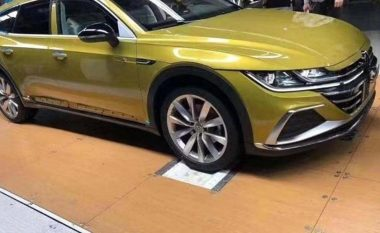 Volkswagen Arteon është shfaqur më herët se që pritej, mësohen se ku do të prodhohet