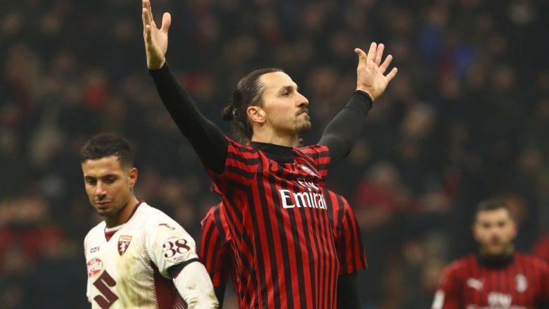 Zlatan Ibrahimovic duke festuar golin ndaj Torinos (Foto: Marco Luzzani/Getty Images/Guliver)