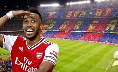 Barcelona tenton huazimin e Aubameyangut nga Arsenali