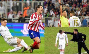 Mbështetja e Simeones për Valverden në kartonin e kuq ndaj Moratas - uruguaiani ia fitoi Realit Superkupën e Spanjës
