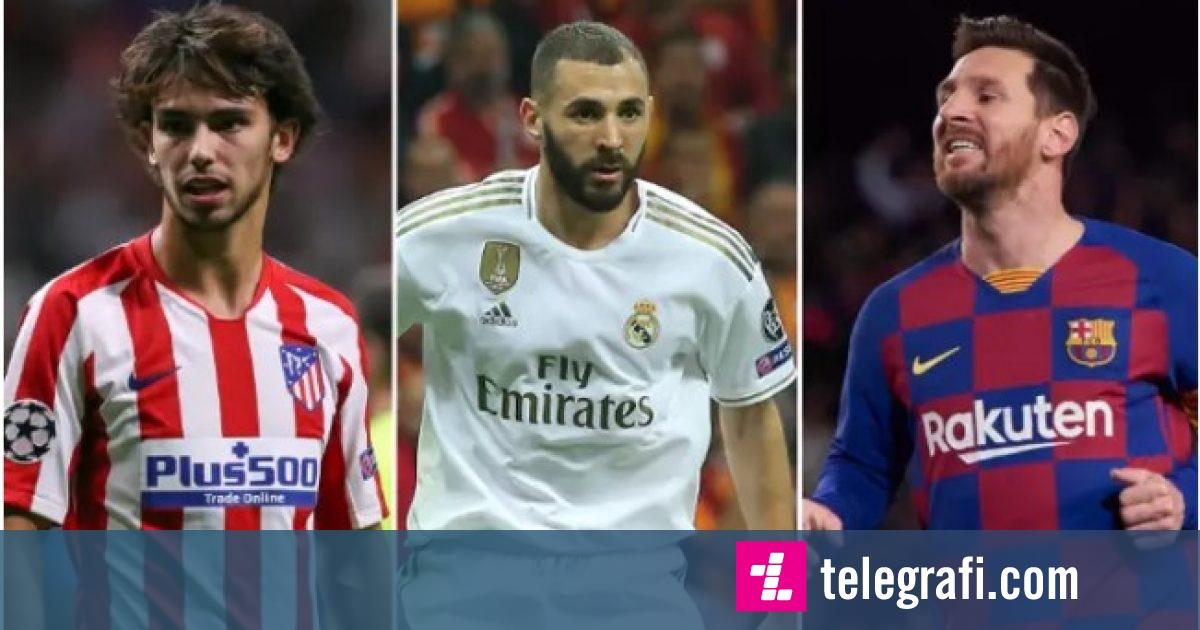 Zbulohen klauzolat më të mëdha në futboll   Nga Benzema  te Messi e Felix  shifra të frikshme