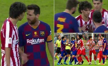 Messi dhe Joao Felix patën konfrontim verbal, Suarez iu bashkua zënkës që krijoi tollovi të madhe