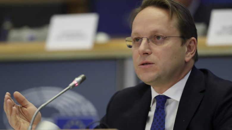 epa07994871 European Commissioner-designate in charge of neighborhood and enlargement policy, Oliver Varhelyi from Hungary during his hearing before the European Parliament in Brussels, Belgium, 14 November 2019.  EPA-EFE/OLIVIER HOSLET
