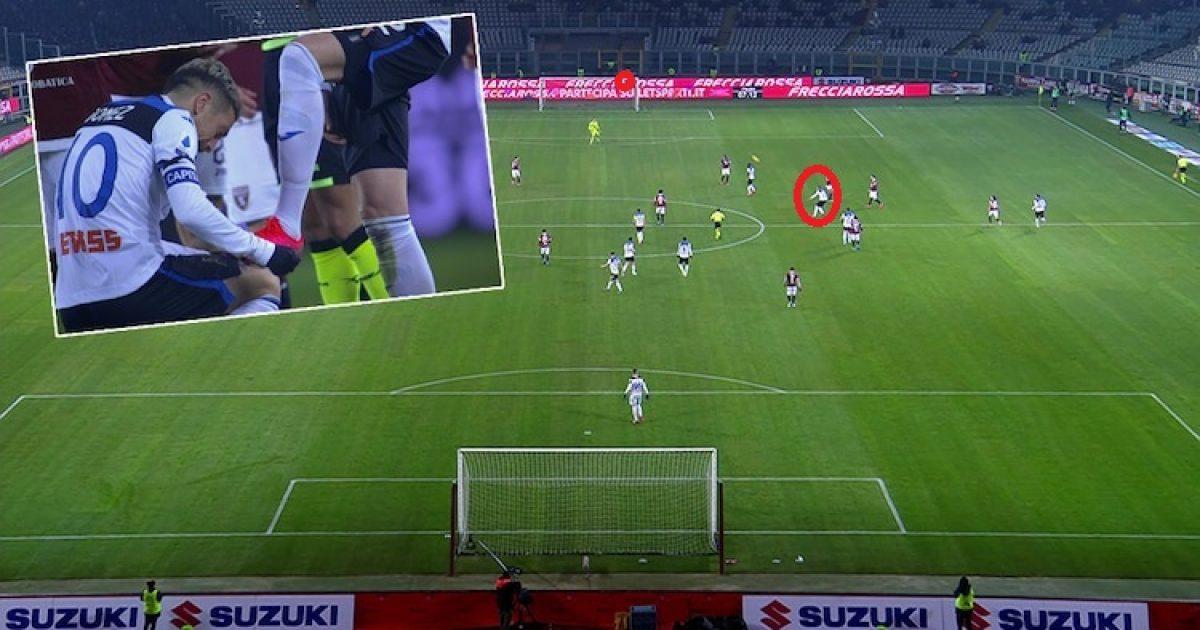 Ilicic i papërmbajtshëm me het trik ndaj Torinos  slloveni shënoi golin e vitit nga gjysma e fushës