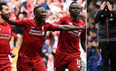 Salah, Mane dhe Keita do të mungojnë deri në gjashtë javë te Liverpooli shkaku i Kupës së Kombeve në Afrikë